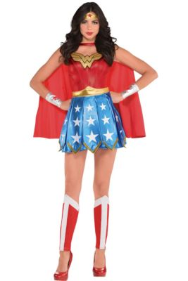 Wonder Woman Costumes For Kids Adults Party City
