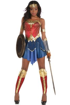 Womens Wonder Woman Costume - Wonder Woman Movie 7bf6ace9b96a