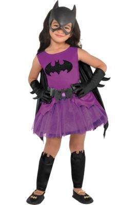 toddler girls purple batgirl costume batman