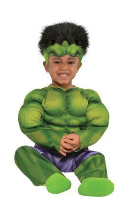 baby hulk muscle costume