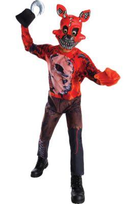 boys nightmare foxy costume five nights at freddys 4