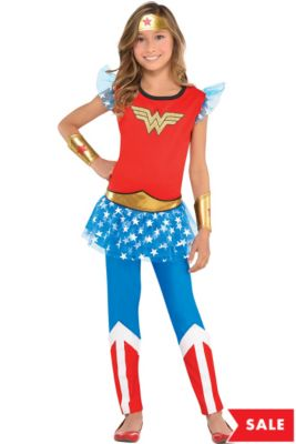 50dd42c9b76 Wonder Woman Costumes for Kids & Adults | Party City