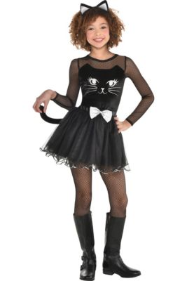 girls kitty kat costume