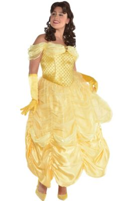 8f3e5b7bde8 Womens Belle Costume Plus Size - Beauty and the Beast