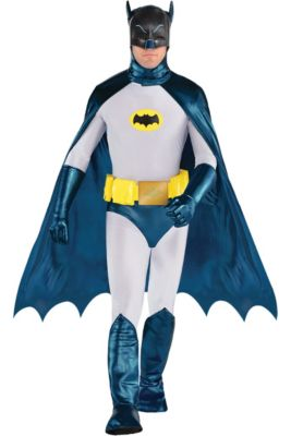 mens classic batman costume