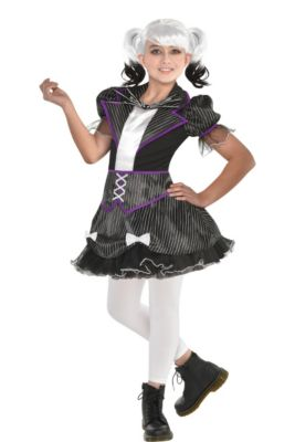 girls jack skellington costume the nightmare before christmas