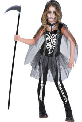 girls grim reaper costume