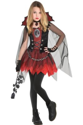 Girls Horror Gothic Costumes Vampire Costumes For Girls Party City