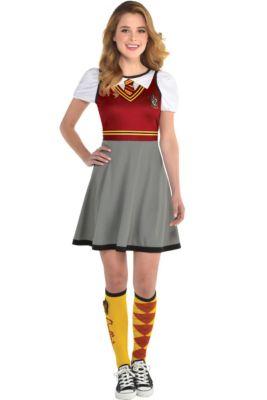 Womens Gryffindor Dress - Harry Potter 85c3d732f