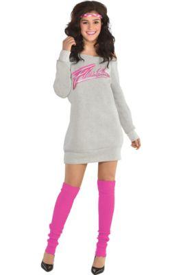 5ef3721d0a34 Womens Flashdance Costume Accessory Kit