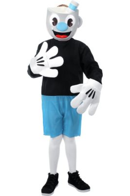 child mugman costume cuphead