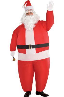 5d92863c638 Adult Inflatable Santa Costume