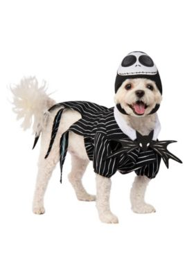 f01a572c2e027 Jack Skellington Dog Costume - The Nightmare Before Christmas