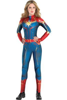f8cc5214aea Adult Light-Up Captain Marvel Costume - Captain Marvel