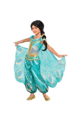 76dabd7b435 Child Jasmine Whole New World Costume - Aladdin