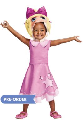99f8600e9 Toddler Miss Piggy Costume - Muppet Babies