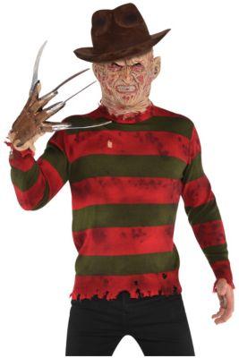 Adult Freddy Krueger Sweater Deluxe - A Nightmare on Elm Street