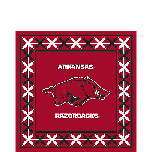 3d28c5f1 Arkansas Razorbacks Party Supplies | Party City
