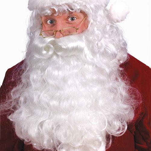 Santa Wig   Beard Set Deluxe bcacadd6b2