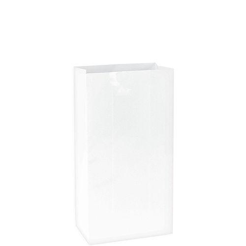 Medium White Paper Treat Bags 12ct