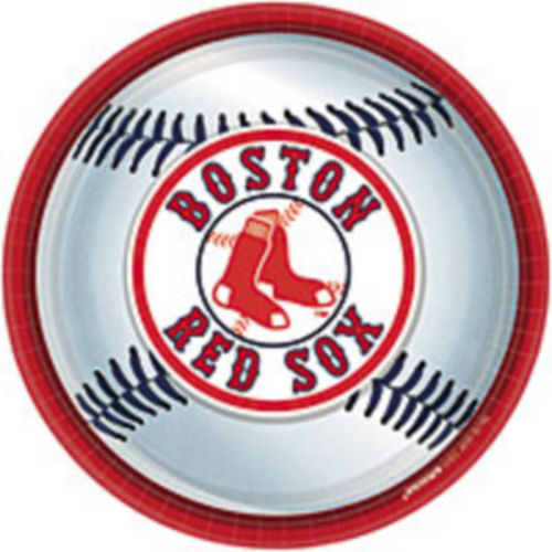 Boston Red Sox Lunch Plates 18ct