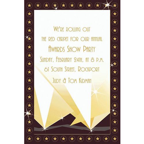 hollywood party invitations party city