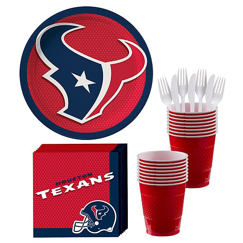 Houston Texans Party Kit For 18 Guests