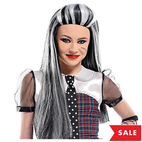 child monster high frankie stein wig