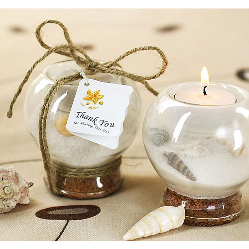 Sand Shell Tealight Candle Holder