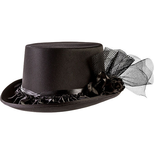 588016a999b28 Black Rose Top Hat