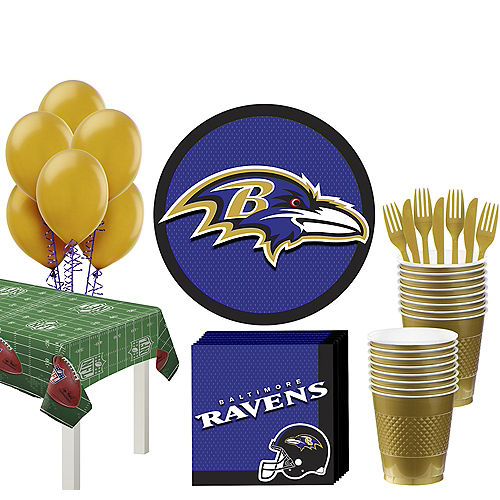 new products add60 8813b NFL Baltimore Ravens Party Supplies, Decorations & Party ...