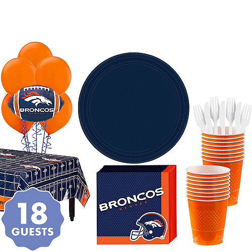 Denver Broncos Party Supplies: Decorations, Tableware & Party