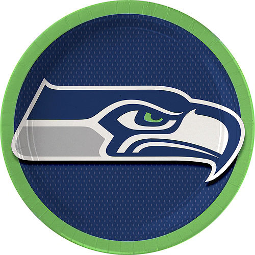 Seattle Seahawks Lunch Plates 18ct
