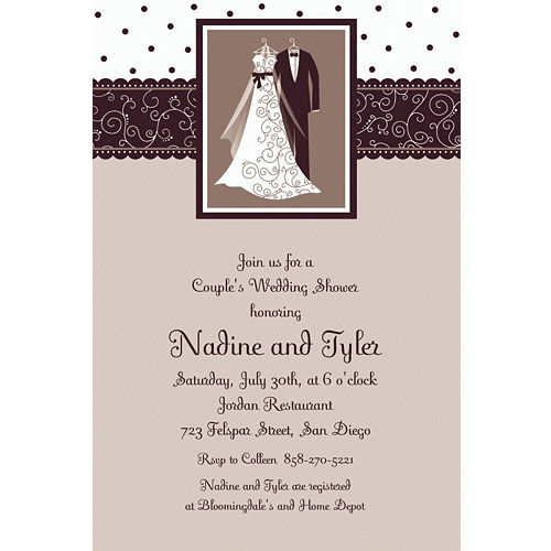 custom wedding invitations banners party city