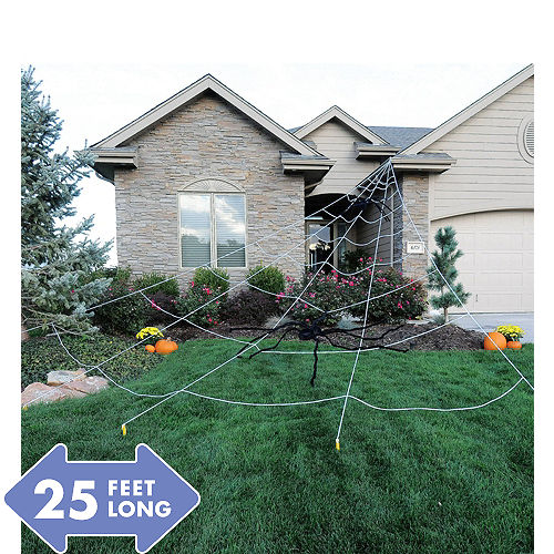 Giant Spider Web Yard Decoration 25ft