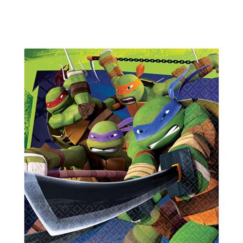 Age Mutant Ninja Turtles Lunch Napkins 16ct