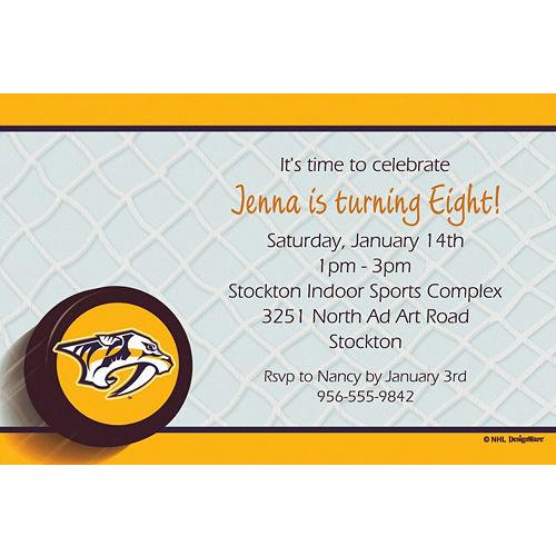 NHL Nashville Predators Party Supplies | Party City