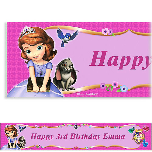f0117c922 Sofia the First Party Supplies - Sofia the First Birthday Ideas ...