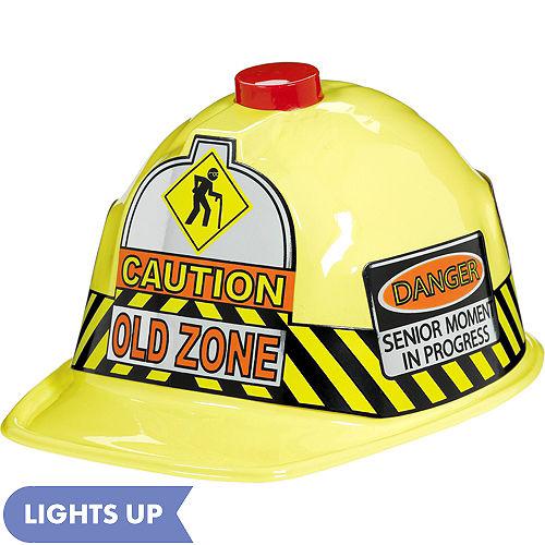 6b1e641261e532 Old Zone Flashing Construction Hat Quick View. $6.99. Old Zone Flashing  Construction Hat 7 1/2in x ...
