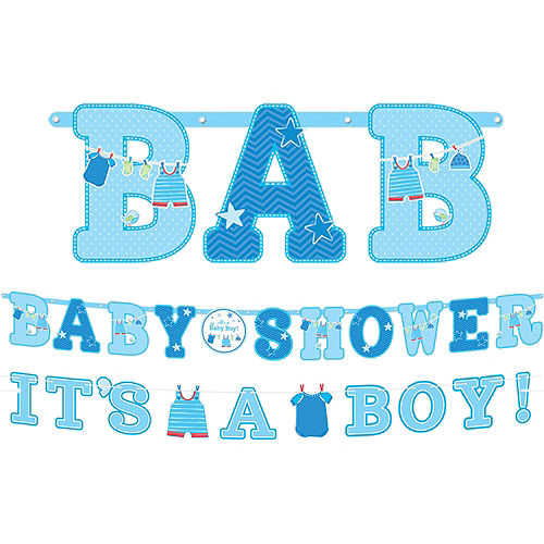 baby shower banners yard signs party city