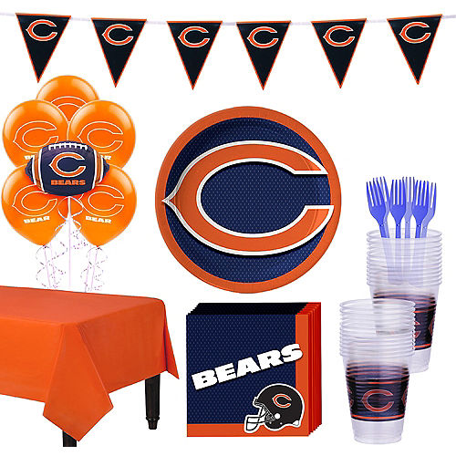 Super Chicago Bears Party Kit for 18 Guests 8da510bb7