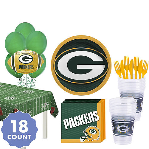 1e191481 NFL Green Bay Packers Party Supplies, Decorations & Party Favors ...