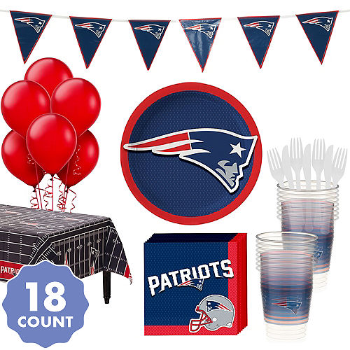 0c2ae50dbd0 New England Patriots Party Supplies   Decorations