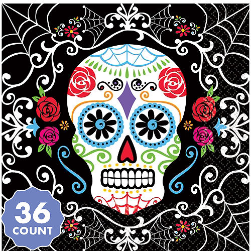 5b18279c Day of the Dead Decorations & Supplies - Day of the Dead Skulls ...