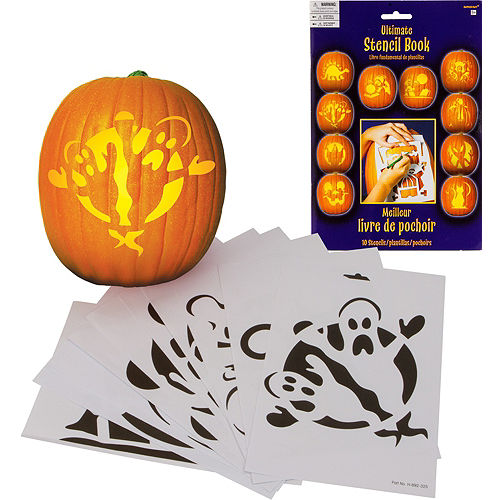 Pumpkin Carving Stencils 10ct