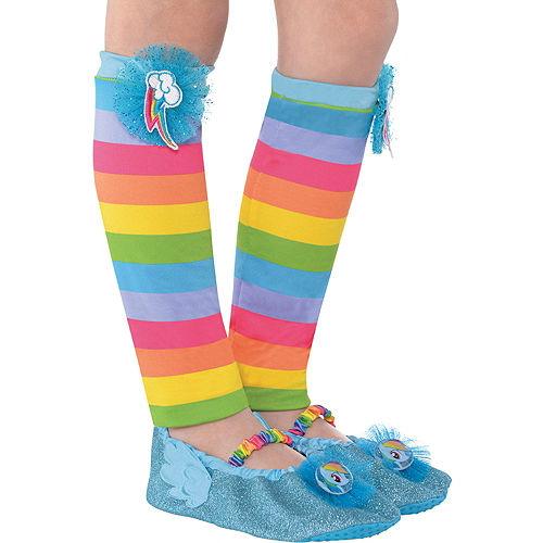 e9e6fc6c015f4 Child Rainbow Dash Leg Warmers - My Little Pony