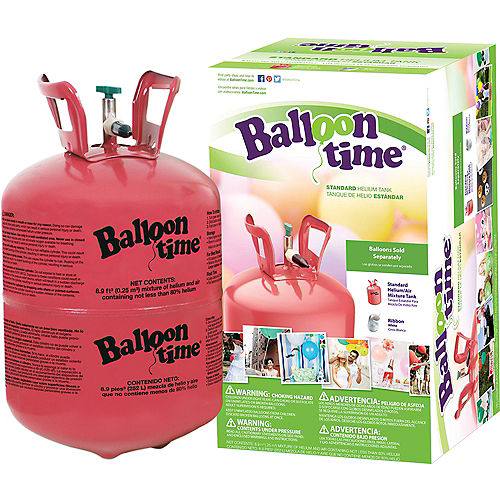 Balloon Time Small Helium Tank 8.9cu ft