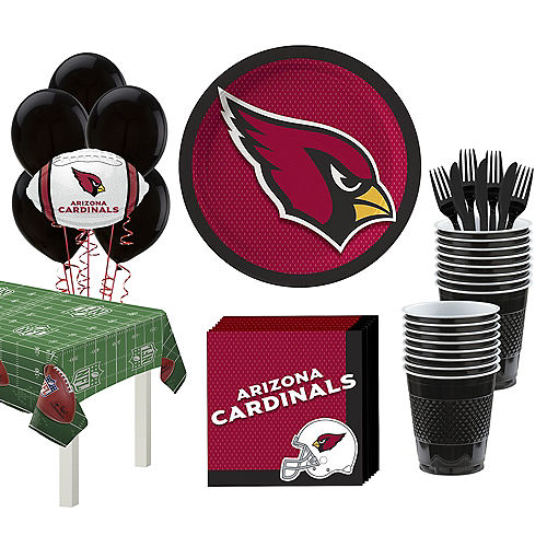 pretty nice 36c08 7b450 NFL Arizona Cardinals Party Supplies | Party City