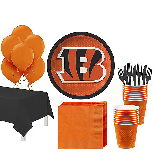 NFL Cincinnati Bengals Party Supplies | Party City