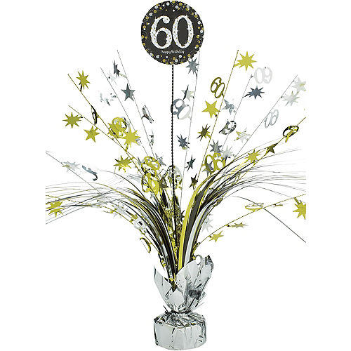 60th Birthday Spray Centerpiece